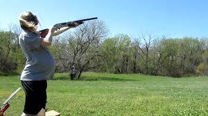 shooting while preg