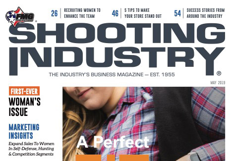 """Femme Fatale ARMS featured in """"SHOOTING INDUSTRY""""magazine."""